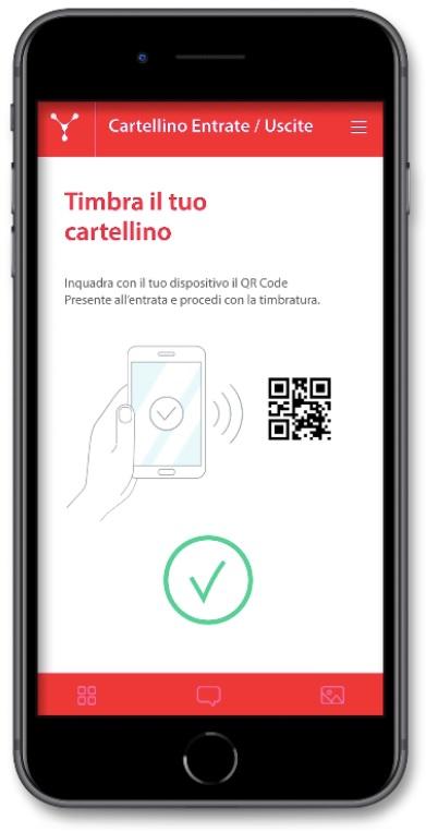 My Net, la smartphone app per la timbratura presenze dipendenti