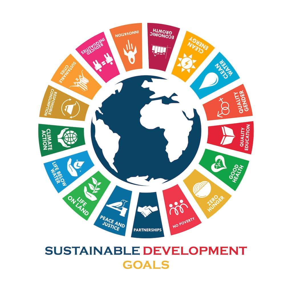 MyNet è società benefit: infografica degli obiettivi dell'Agenda Onu per lo sviluppo sostenibile
