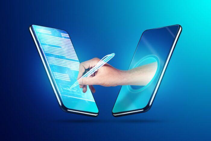 come funziona la firma elettronica? Una firma in firmato digitale che si realizza dalla smartphone
