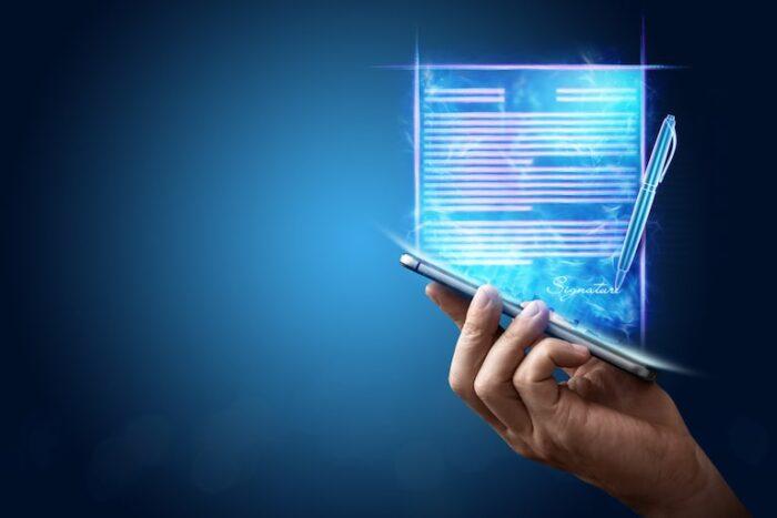 la firma elettronica: una firma in formato digitale con valenza legale