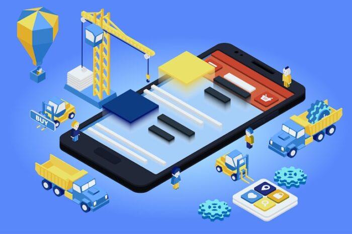 immagine di un'App costruita su misura